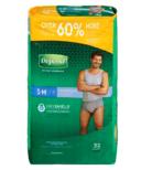 Depend FIT-FLEX Incontinence Underwear for Men Maximum Absorbency S/M