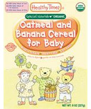 Healthy Times Oatmeal With Banana Cereal For Baby