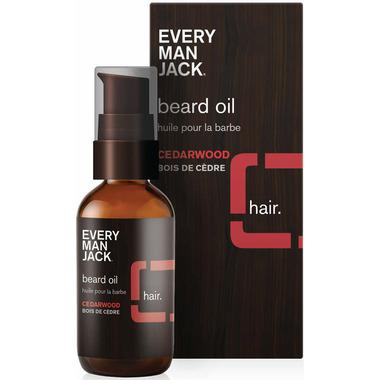 Every Man Jack Beard Oil Cedarwood