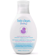Live Clean Baby Creamy Head to Toe Wash Soothing Oatmeal Relief