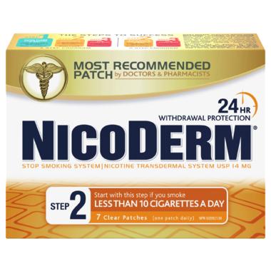 Nicoderm Clear Step 2 Nicotine Patches