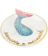 Eccolo Trinket Tray Blue Mermaid