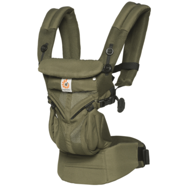 Ergobaby Omni 360 Cool Air Mesh in Khaki Green