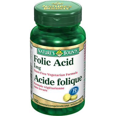 Nature\'s Bounty Folic Acid