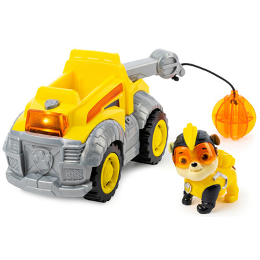 PAW Patrol Rubble\'s Deluxe Vehicle with Lights and Sound