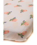 Little Unicorn Cotton Muslin Fitted Sheet Watercolor Rose