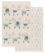 Danica Studio Tea Towel Llamarama