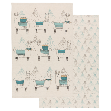 Danica Studio Tea Towel Llamarama