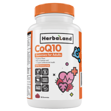 Herbaland Gummy for Adults: CoQ10