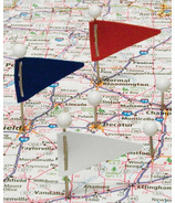 Gem Triangular Map Flags