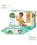 Seventh Generation Diaper & Wipes Bundle Size 5