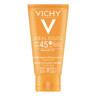 Vichy Ideal Soleil Bare Skin Feel Lotion SPF 45