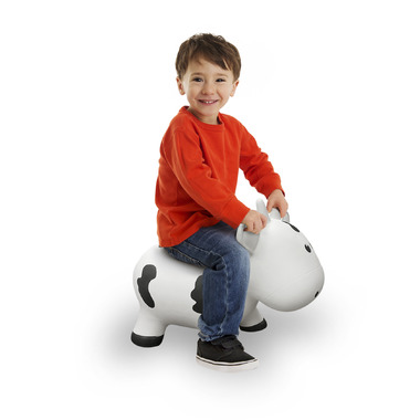 Farm Hoppers Inflatable Bouncing Cow White