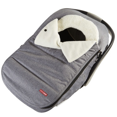 Skip Hop Stroll & Go Car Seat Cover Heather Grey