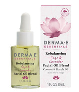 Derma E Essentials Rebalancing Sage and Lavender Face Oil