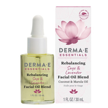 Derma E Essentials Rebalancing Sage and Lavender Face Oil