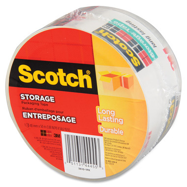 3M Scotch Clear Storage Packaging Tape