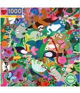 eeBoo Sloths Square Puzzle