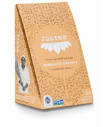 JusTea Herbal Pyramid Tea Bags Sunkissed Rooibos