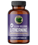 Pure Lab Vitamins L-Theanine Slow Release 200mg