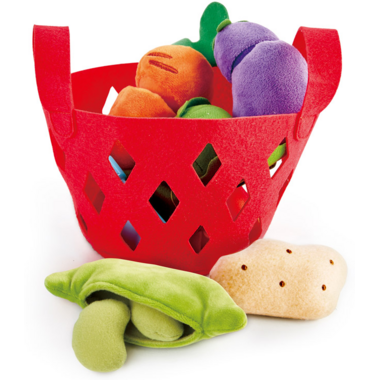 Hape Toys Toddler Vegetable Basket