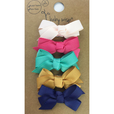 Baby Wisp 5 Chelsea Bows Snap Chantilly
