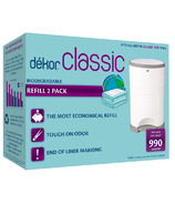 Dekor Classic Diaper Pail Refill Biodegradable 2 Pack