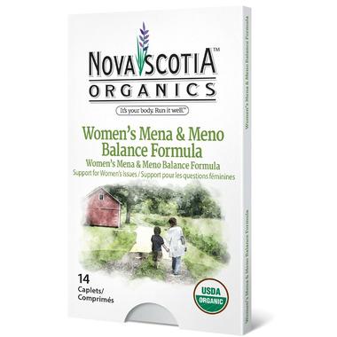 Nova Scotia Organics Women\'s Mena & Meno Balance Formula