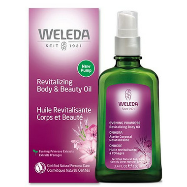 Weleda Evening Primrose Revitalizing Body and Beauty Oil