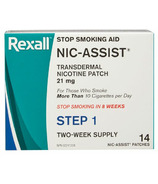 Rexall Nic-Assist Stop Smoking System Step 1 21mg