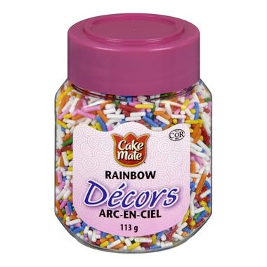 Cake Mate Decors Rainbow Sprinkles
