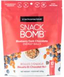Snack Conscious Snack Bomb Blueberry Dark Chocolate Energy Balls