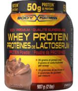 Body Fortress Whey Protein Powder Chocolate