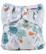 Mother ease Wizard Uno All in One Cloth Diaper Orchard One Size 7-35 lbs