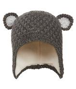 Kombi Baby Animal Hat Asphalt