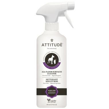 ATTITUDE Furry Friends Floor Cleaner & Odor Eliminator Coco Lime