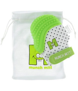 Malarkey Kids Munch Mitt Teething Mitten Green