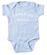 Peace Collective Canadian Built Infant Onesie Light Blue