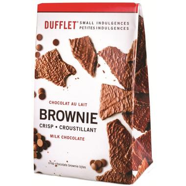 Dufflet Milk Chocolate Brownie Crisp
