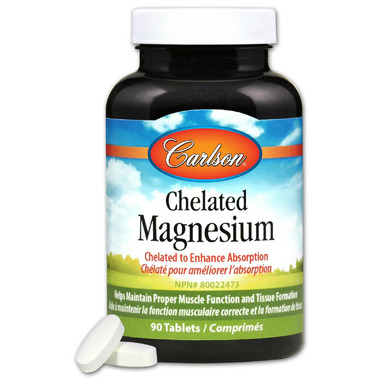 Carlson Chelated Magensium 200 mg