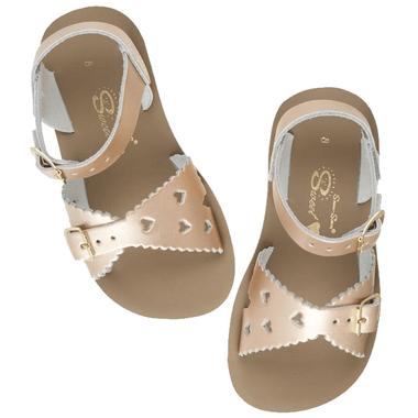 Salt Water Sandals Sweetheart Toddler Sandal Rose Gold