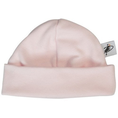 Puffin Gear Organic Cotton Jersey Beanie Pink