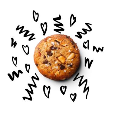Bald Baker Sweet & Salty Peanut Chocolate Chip Cookies