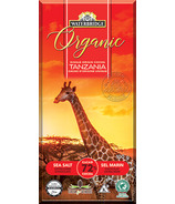 Waterbridge Organic Sea Salt Extra Dark Chocolate 72% Cocoa
