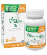 BeneMax BENE Plant Based Vitamin D2