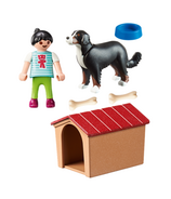 Chien de campagne Playmobil avec niche