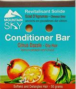 Mountain Sky Citrus Dazzle Conditioner Bar