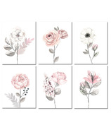 Lambs & Ivy Unframed Wall Art Watercolor Floral