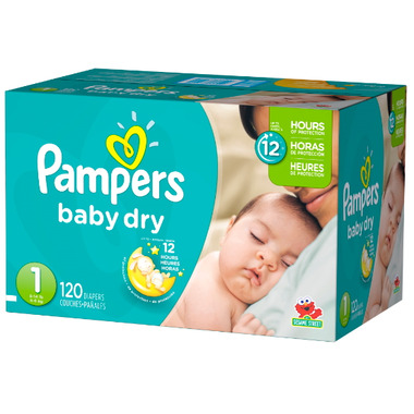 Pampers Baby Dry Super Pack
