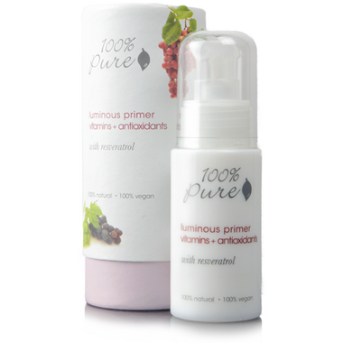 100% Pure Luminous Primer Vitamins + Antioxidants